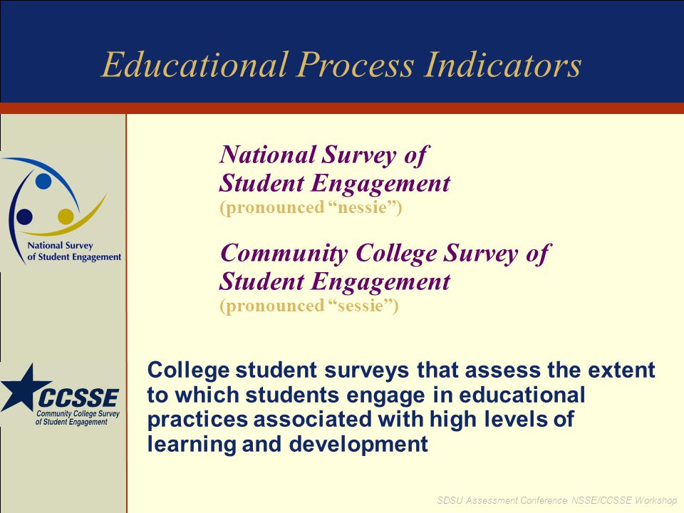 Educational Process Indicators