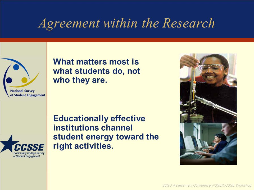 Agreement within the Research