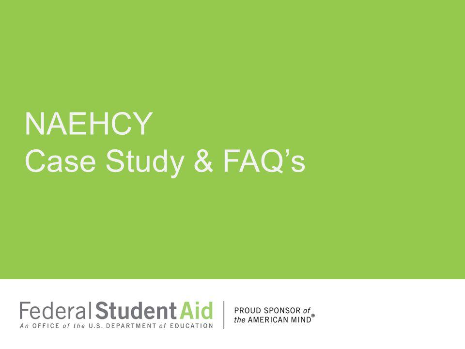 NAEHCY Case Study & FAQ's