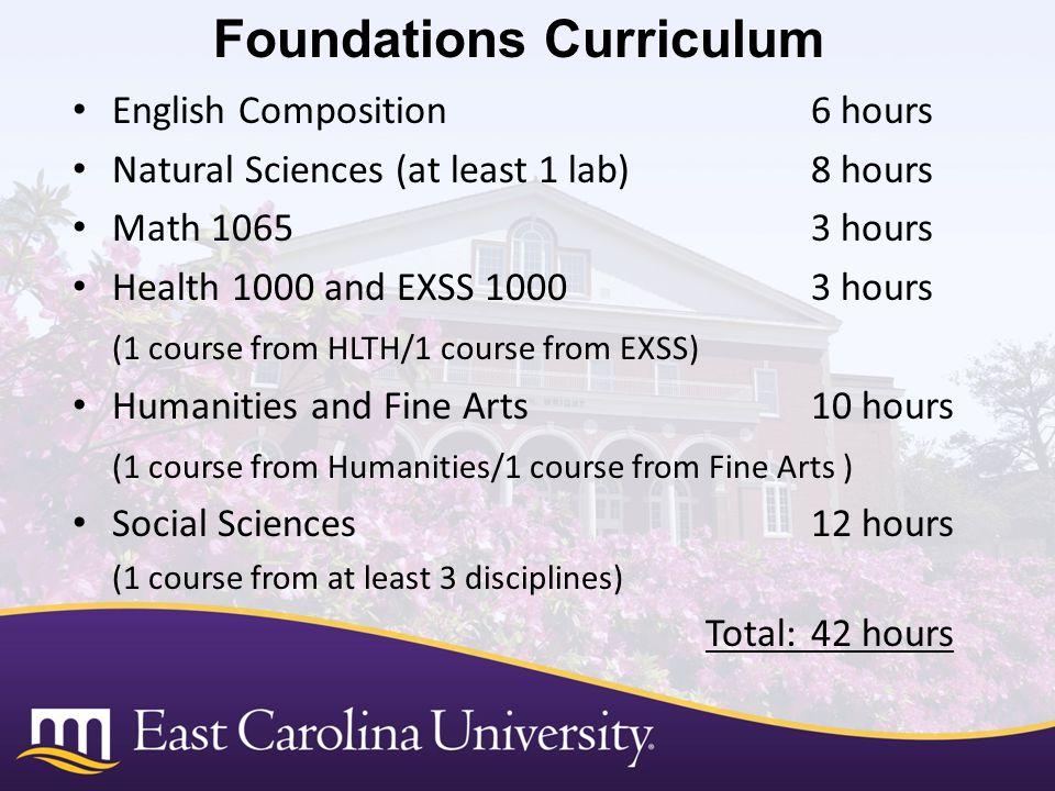 Foundations Curriculum