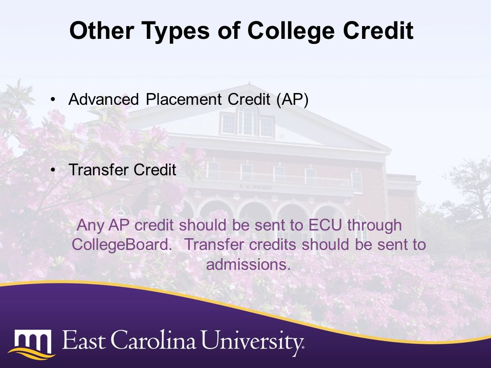 Other Types of College Credit