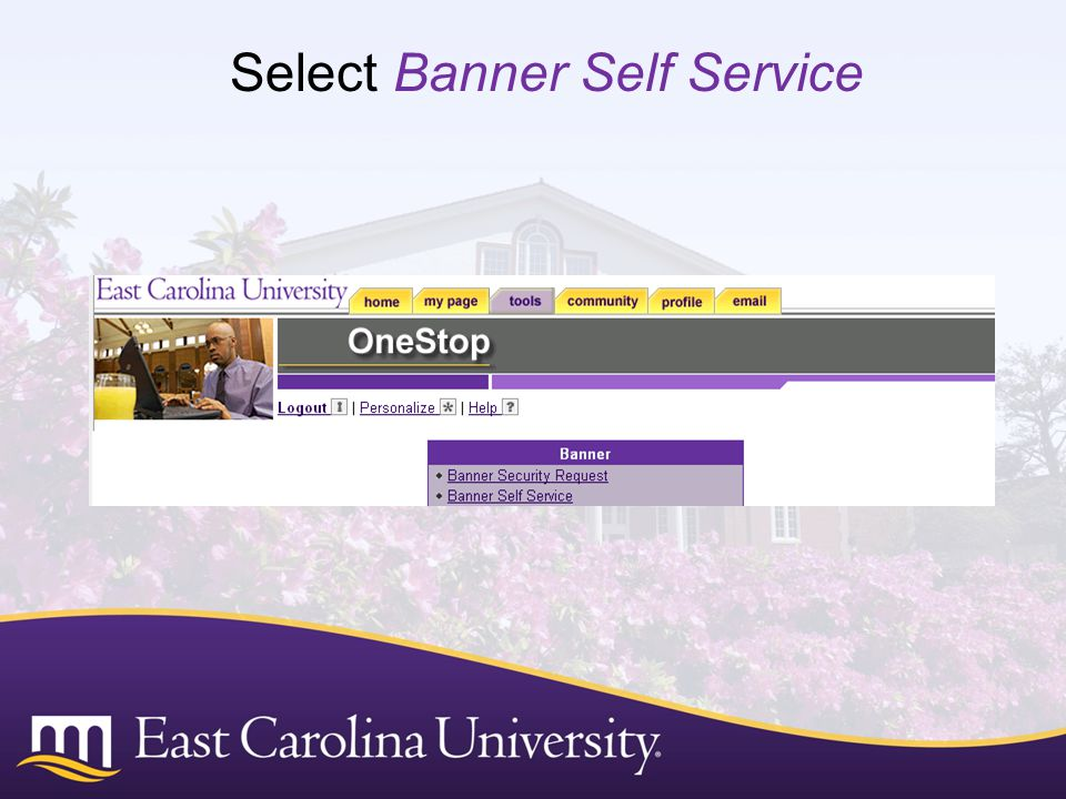 Select Banner Self Service