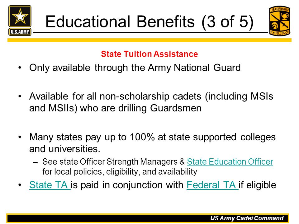 Educational Benefits (3 of 5)