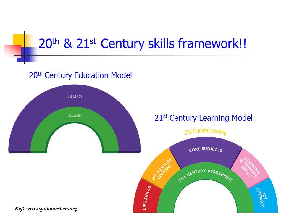 20th & 21st Century skills framework!!