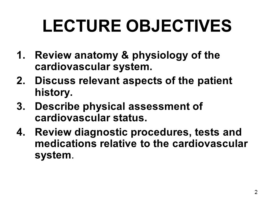 ASSESSMENT OF CARDIOVASCULAR FUNCTION - ppt download