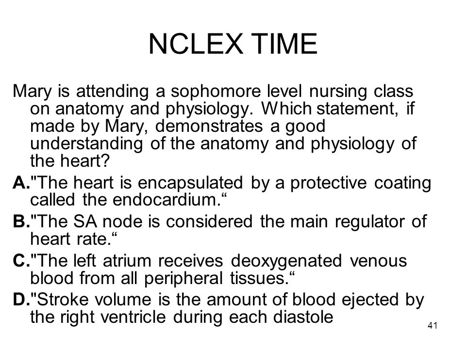 NCLEX TIME