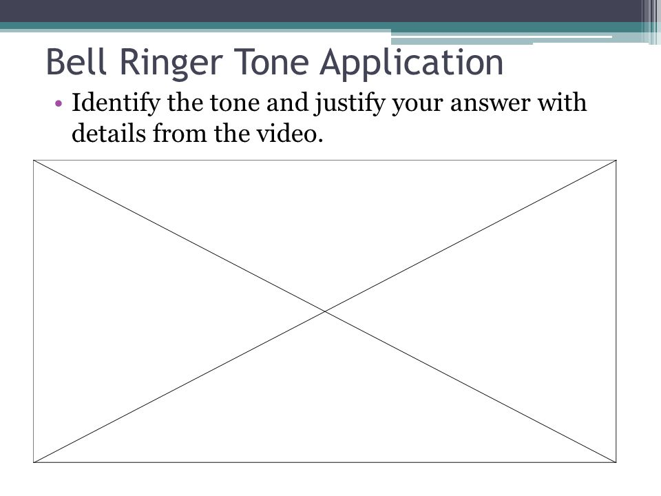 Bell Ringer Tone Application