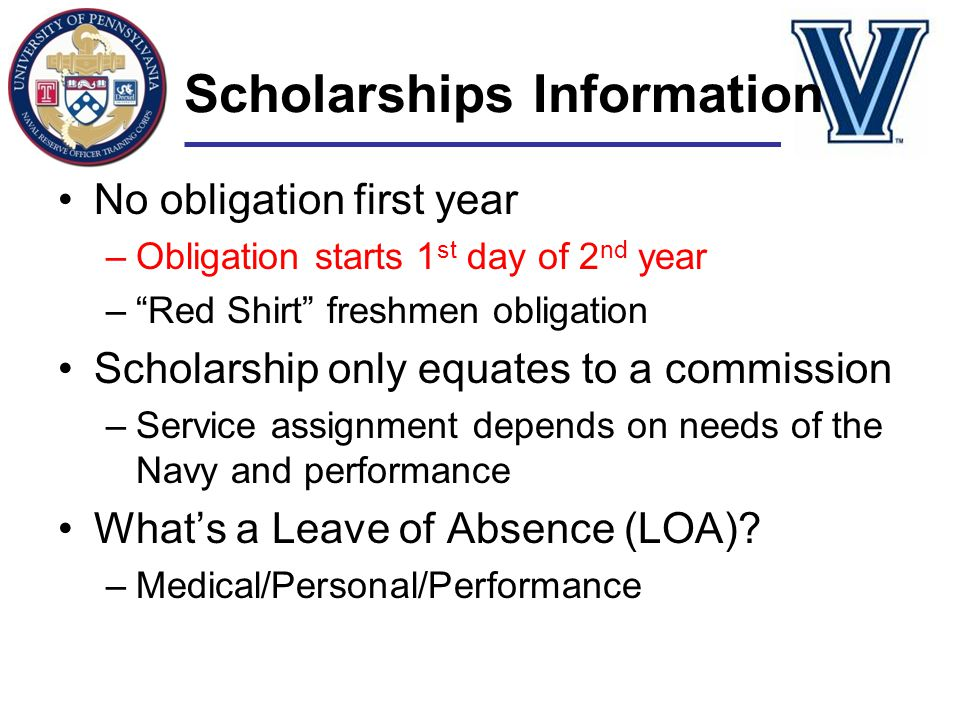 Scholarships Information