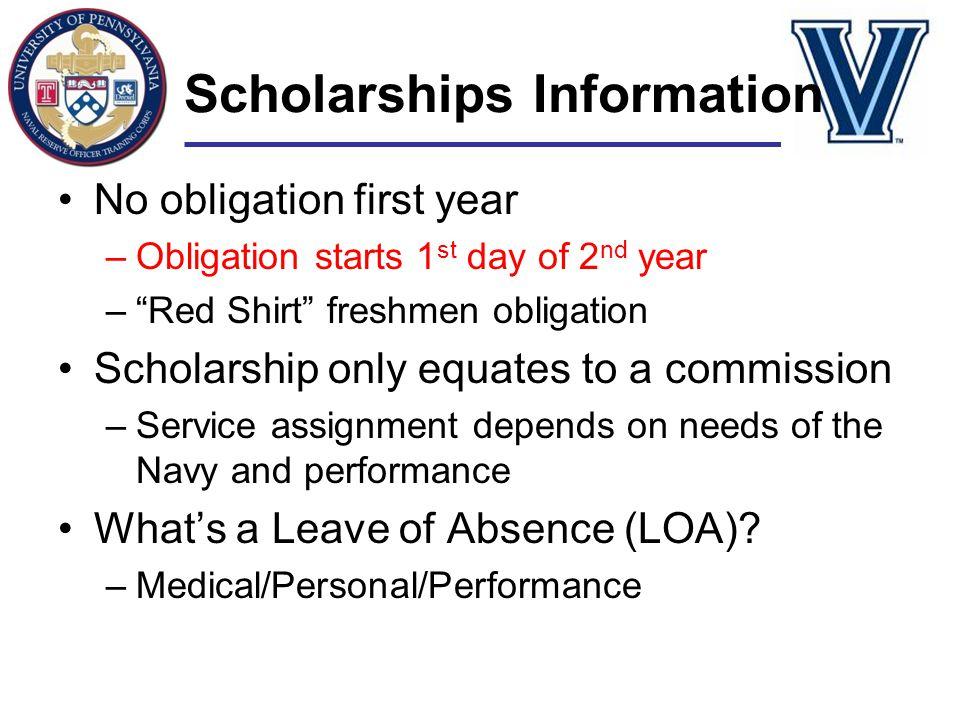 Scholarships Information