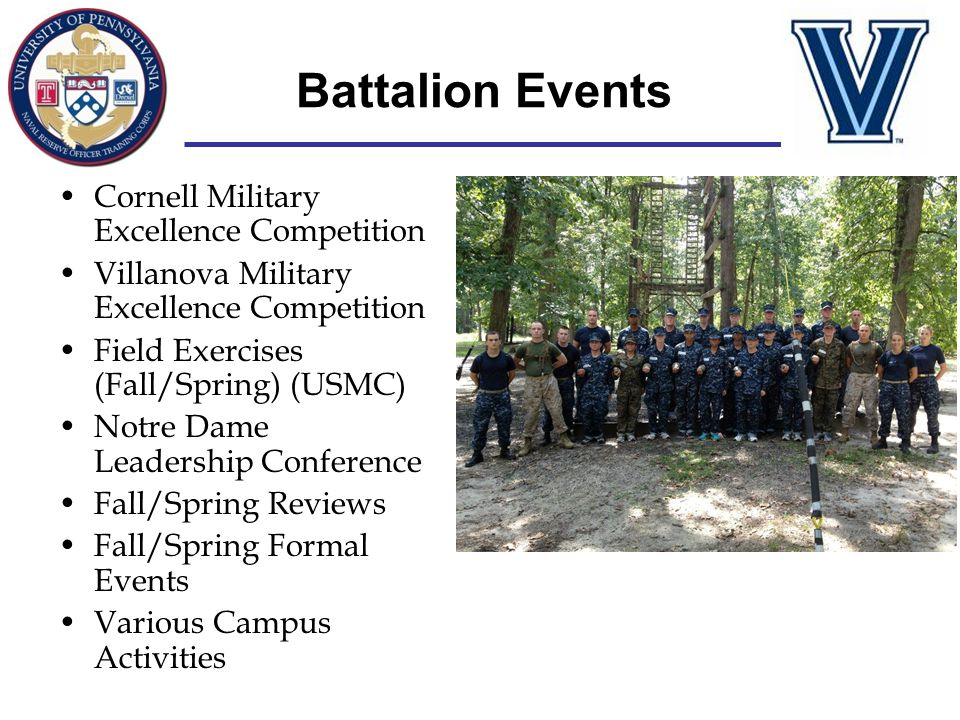 Battalion Events Cornell Military Excellence Competition