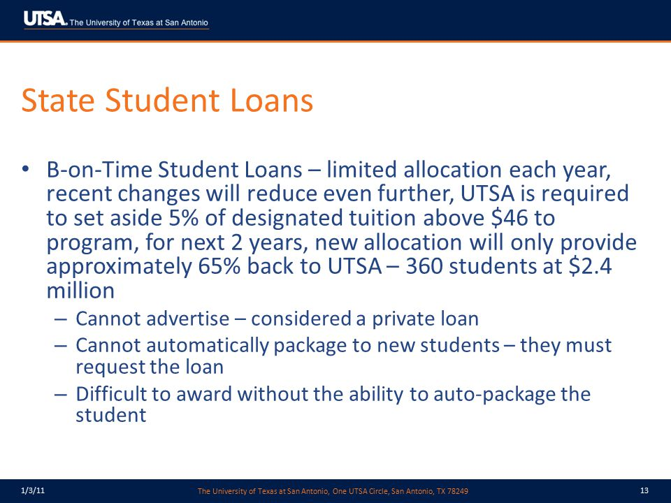State Student Loans