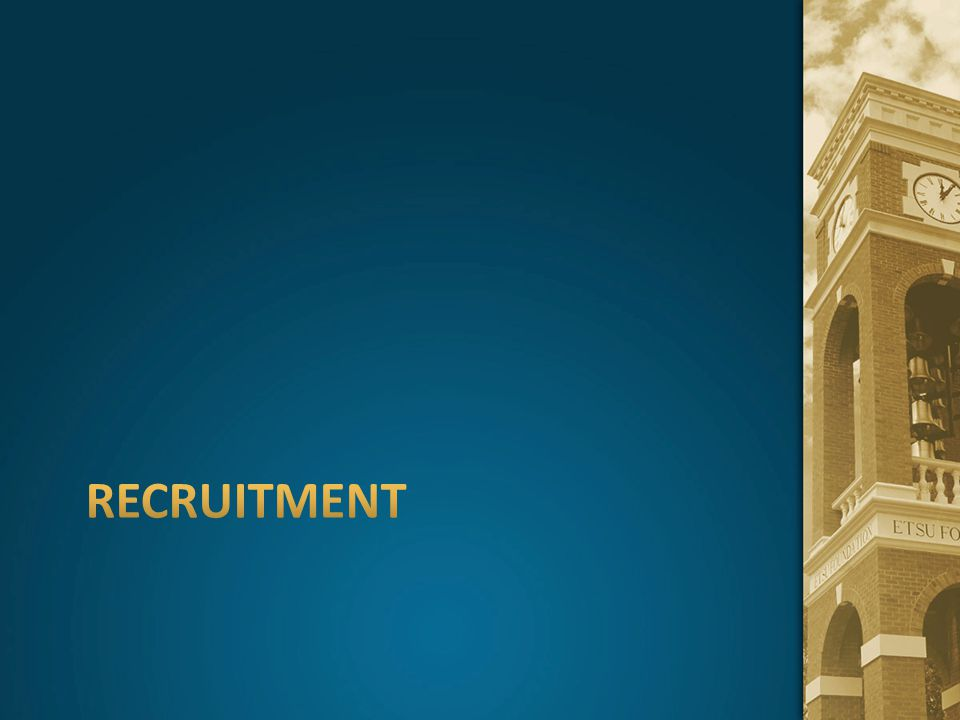 adult student recruitment goals