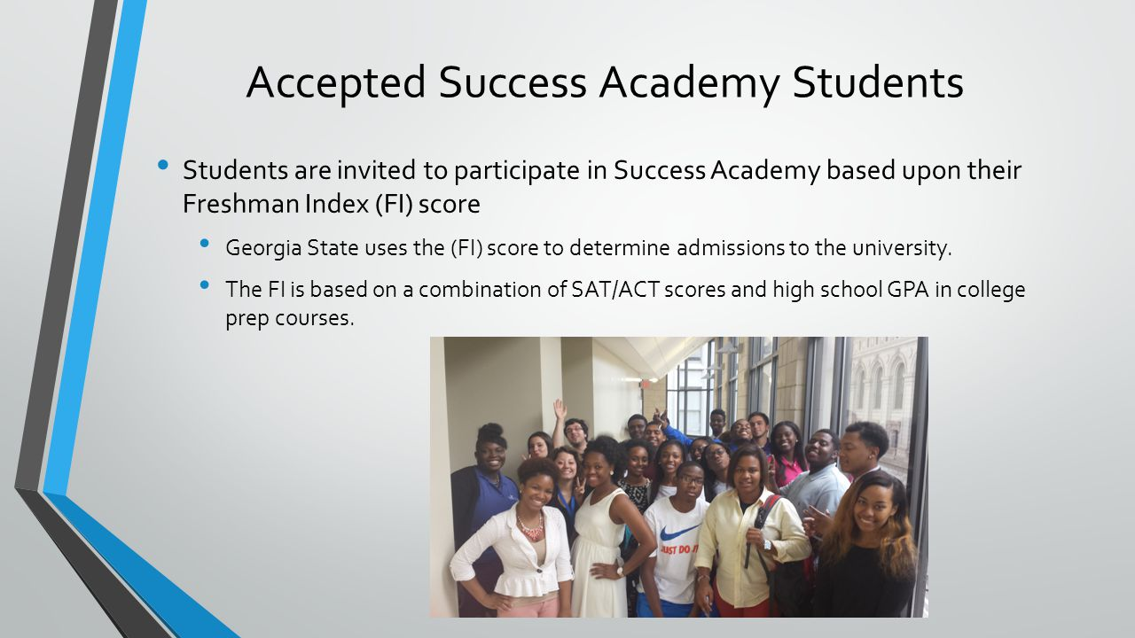 Accepted Success Academy Students