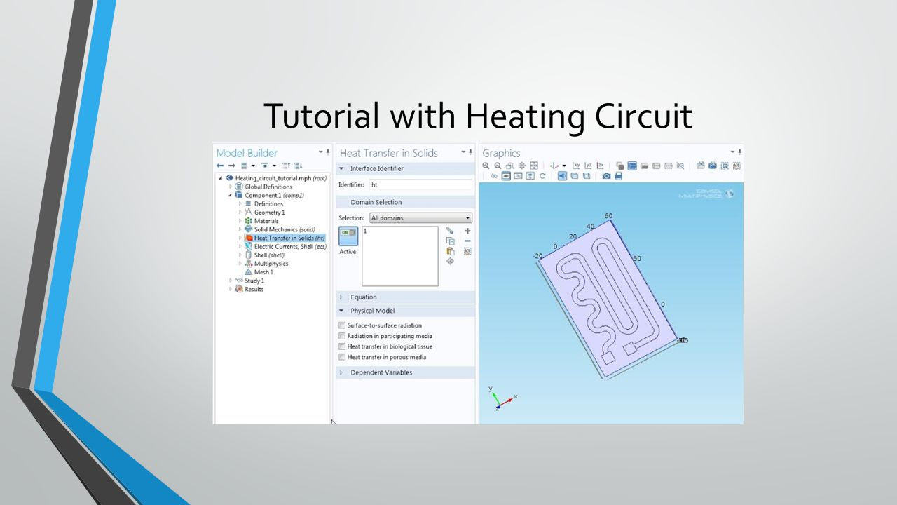 Tutorial with Heating Circuit
