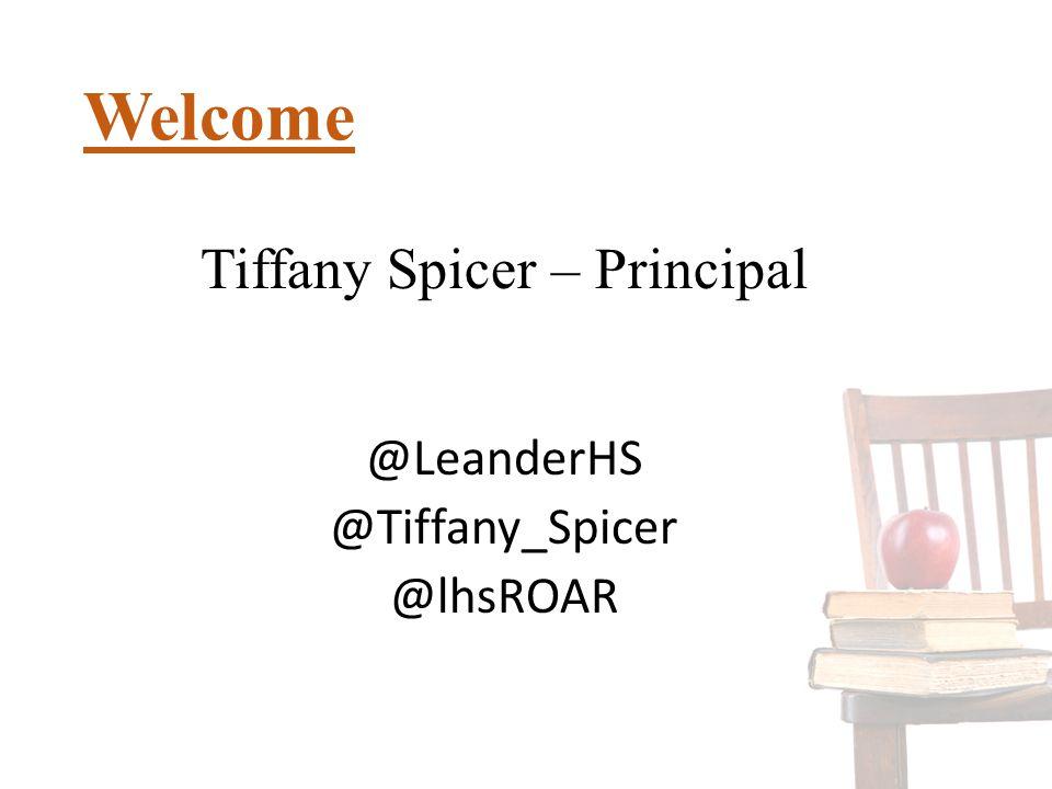 Tiffany Spicer – Principal