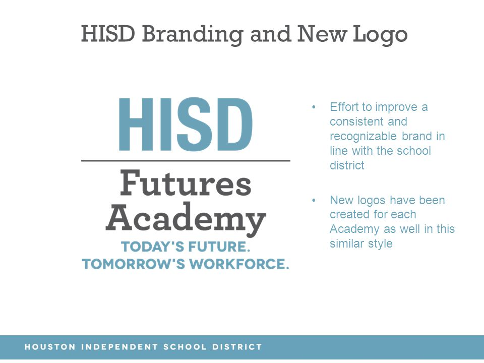 HISD Branding and New Logo
