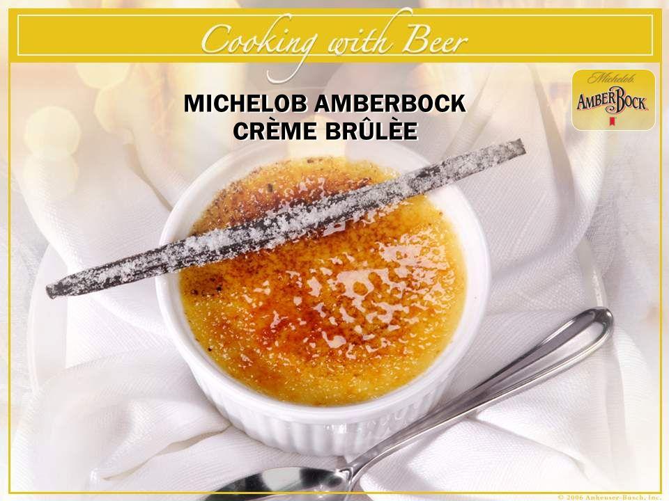 MICHELOB AMBERBOCK CRÈME BRÛLÈE