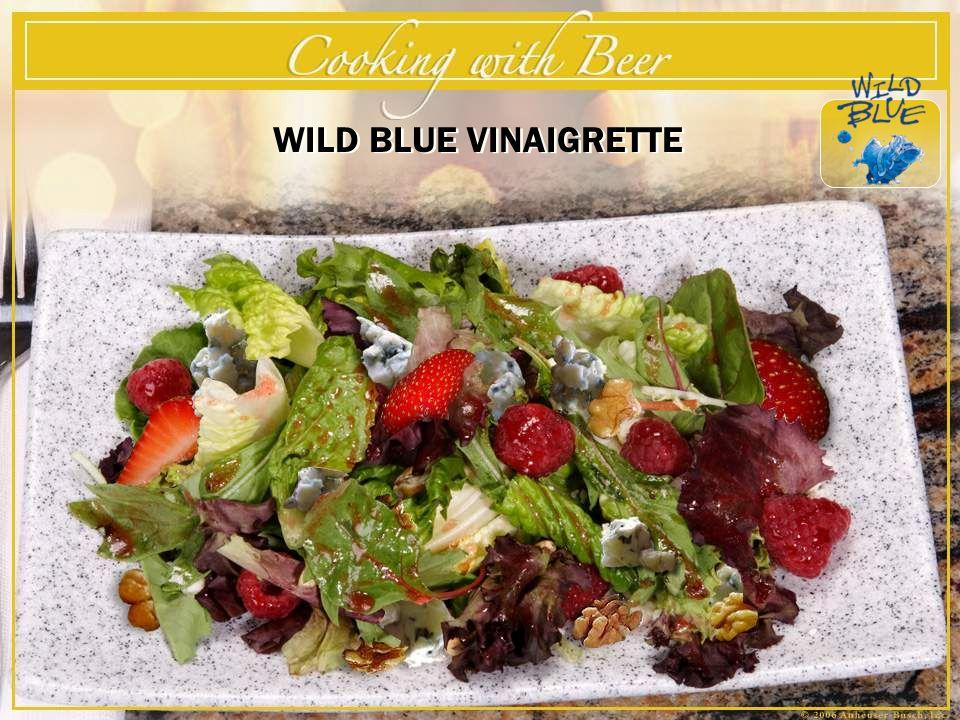 The Beer Gourmet 3/22/2017 WILD BLUE VINAIGRETTE (Refer to Slide)