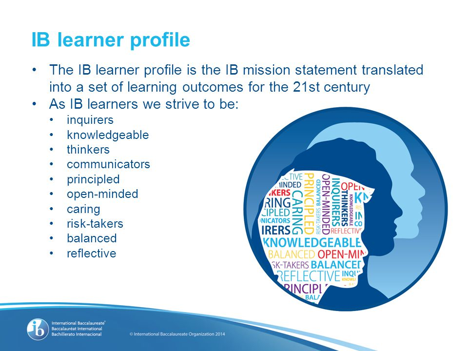 The IB learner profile Video – IB Learner Profile