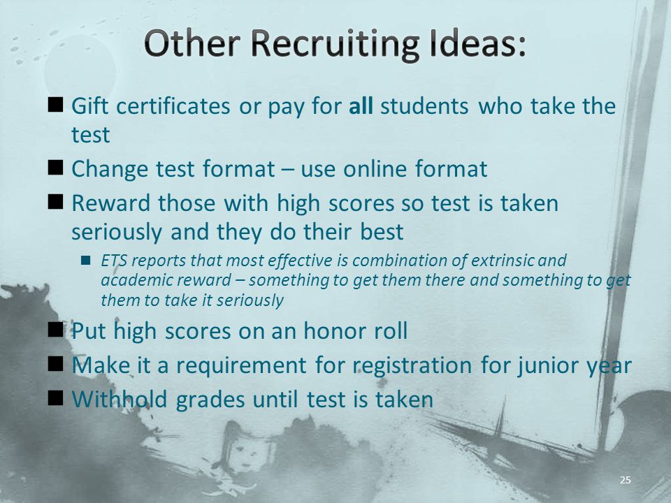 Other Recruiting Ideas: