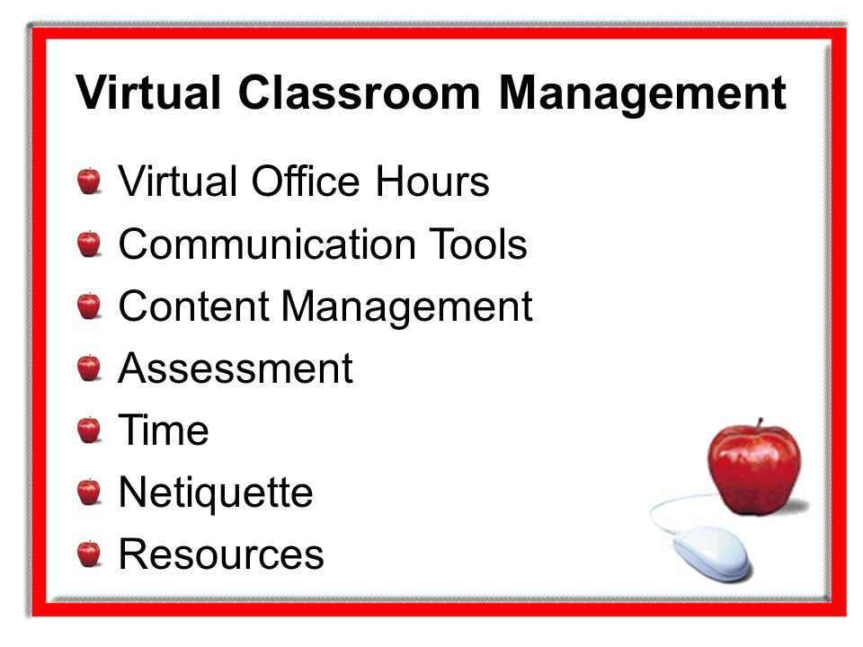 Virtual Classroom Management