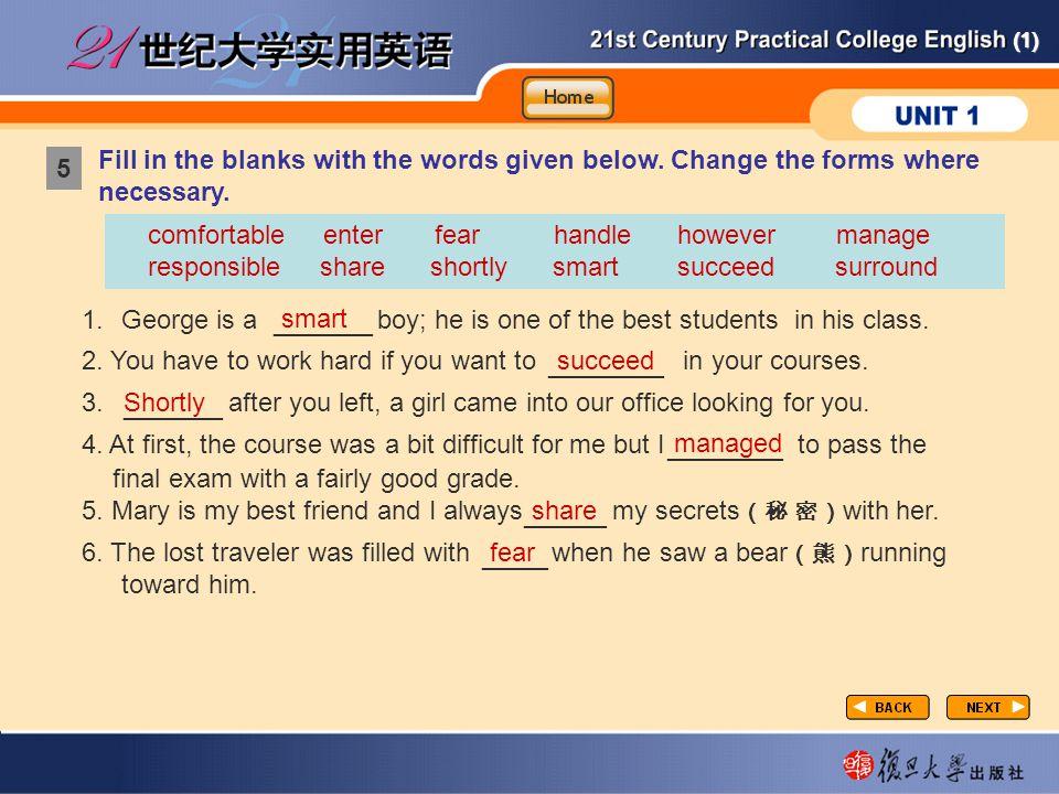 ______ _______ ______ _______ _____ ____ Vocabulary-Fill in1-1