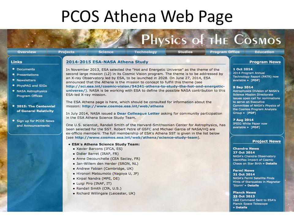PCOS Athena Web Page