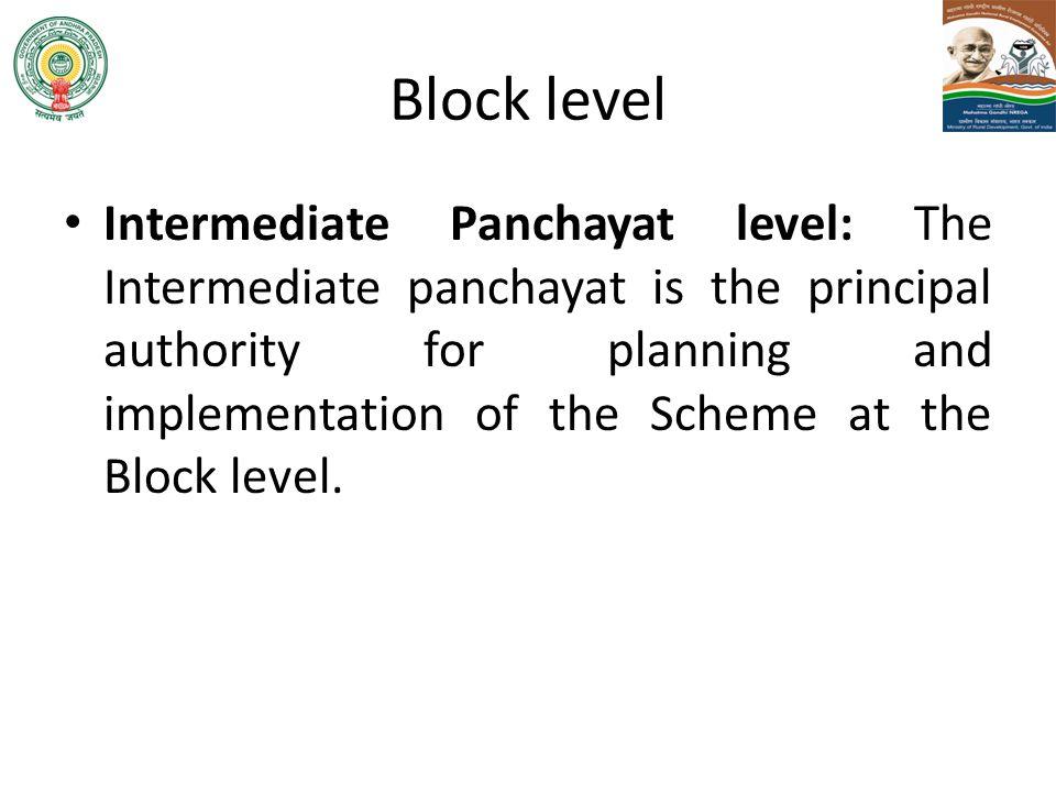 Block level