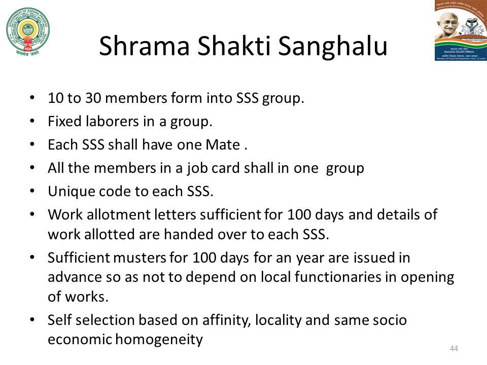 Shrama Shakti Sanghalu