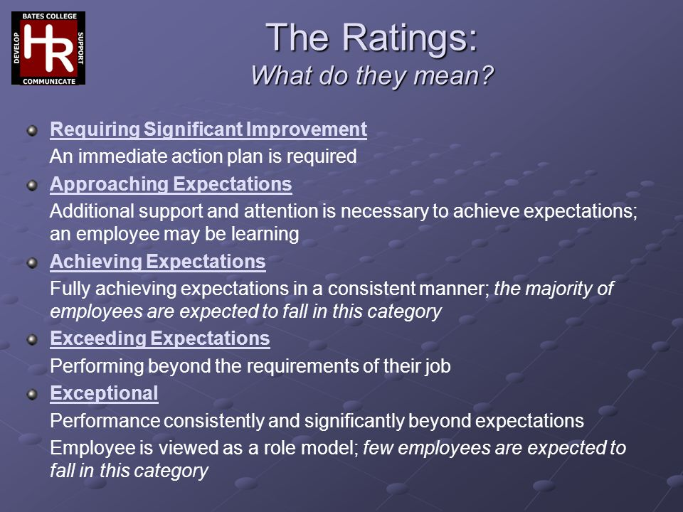 The Ratings: What do they mean