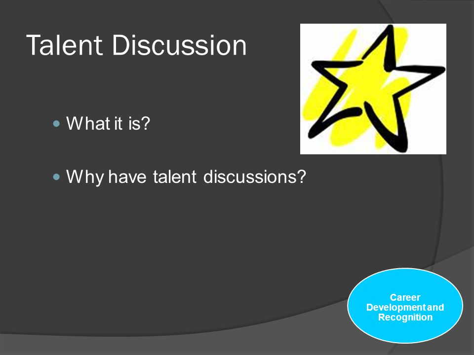 Career Development and Recognition