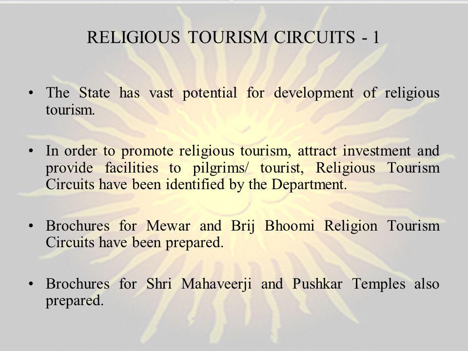 RELIGIOUS TOURISM CIRCUITS - 1