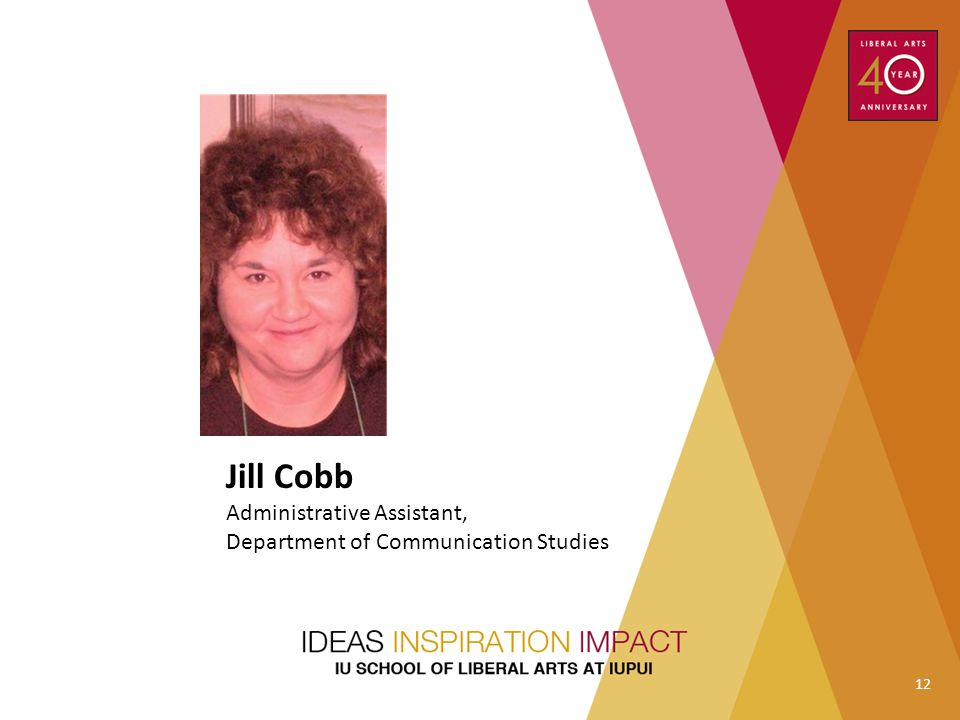 Jill Cobb Administrative Assistant,