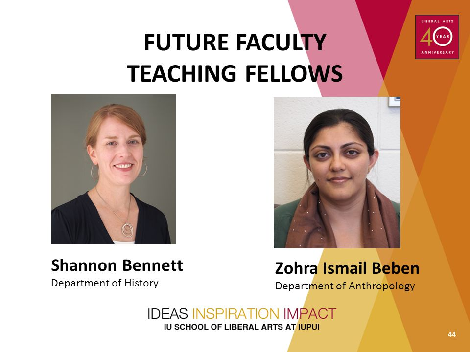 FUTURE FACULTY TEACHING FELLOWS