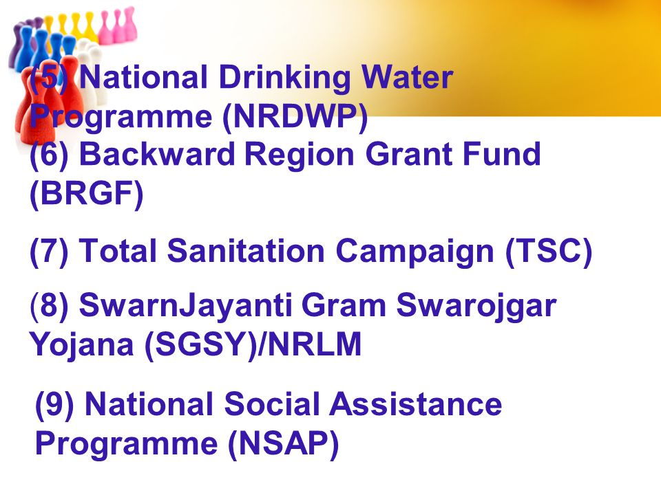 (7) Total Sanitation Campaign (TSC)