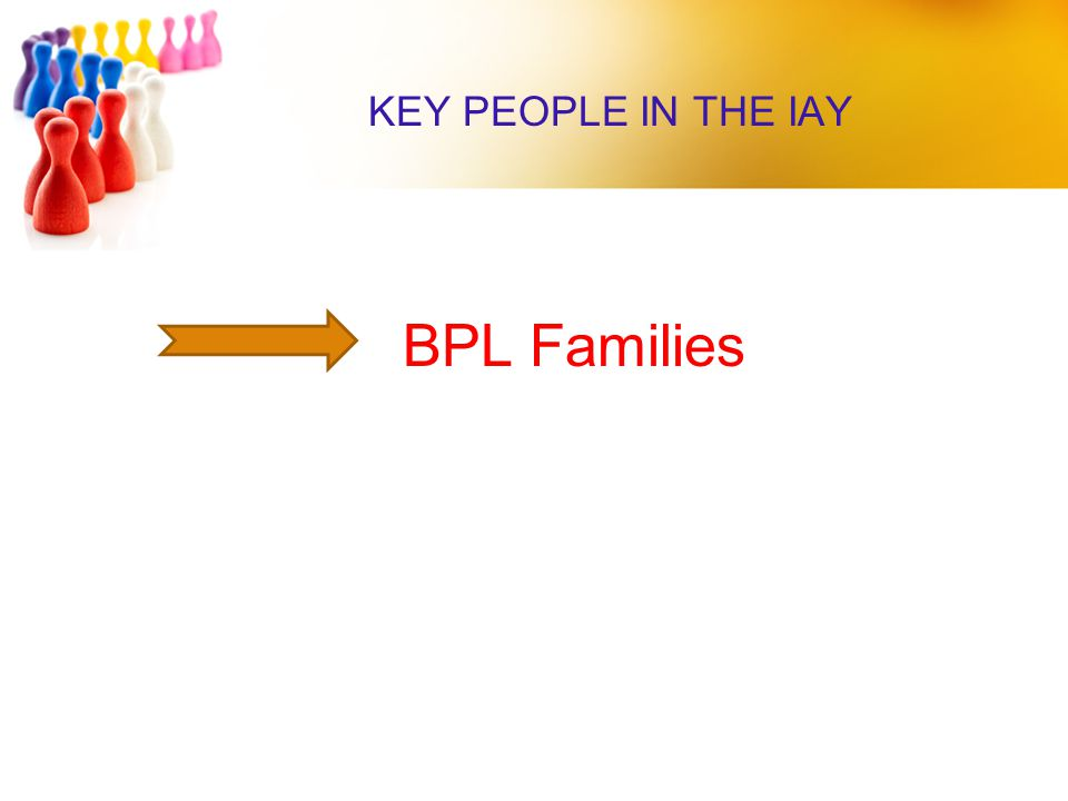KEY PEOPLE IN THE IAY BPL Families