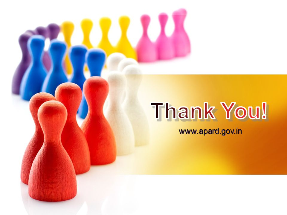 Thank You! www.apard.gov.in Thank You