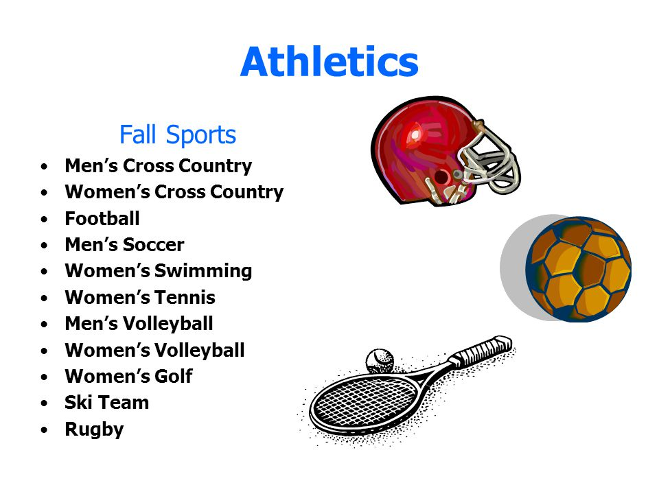 Athletics Fall Sports Men's Cross Country Women's Cross Country