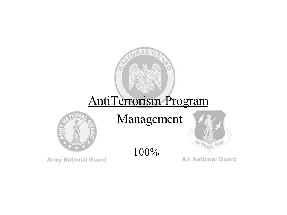 AntiTerrorism Program Management