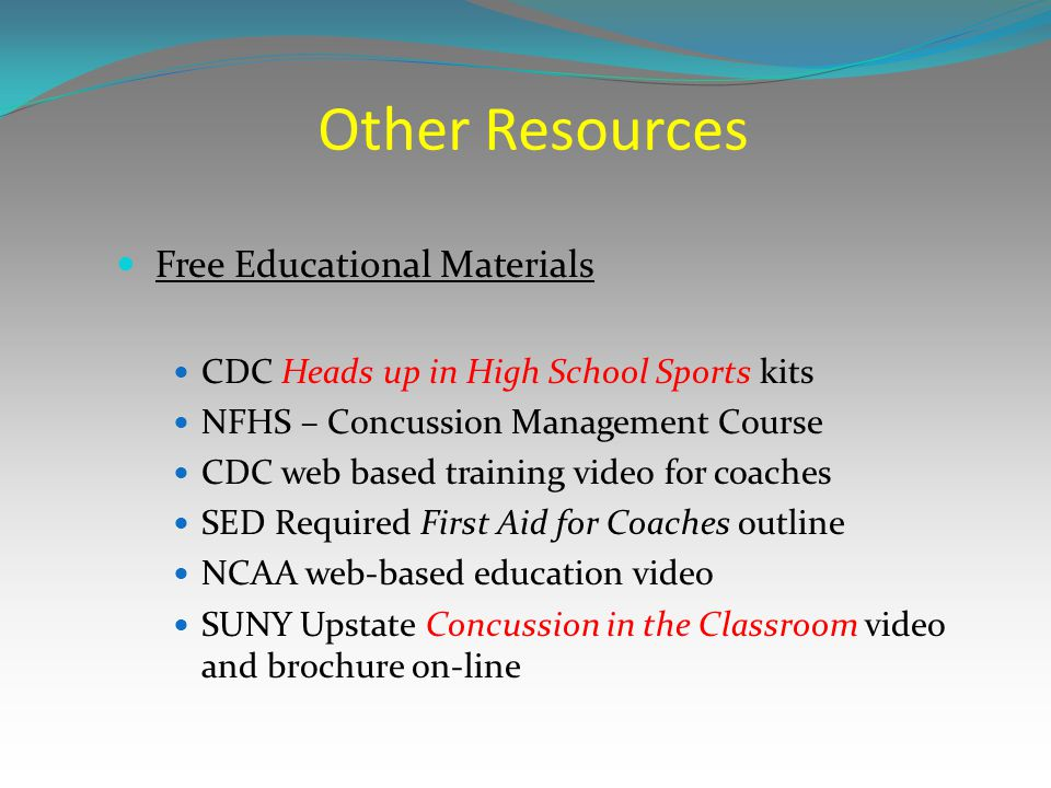 Other Resources Free Educational Materials