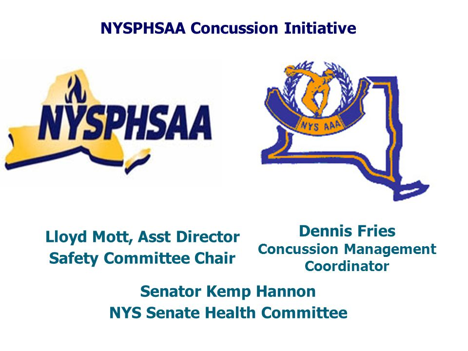 NYSPHSAA Concussion Initiative