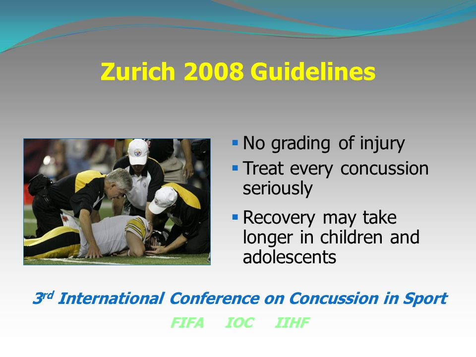 3rd International Conference on Concussion in Sport