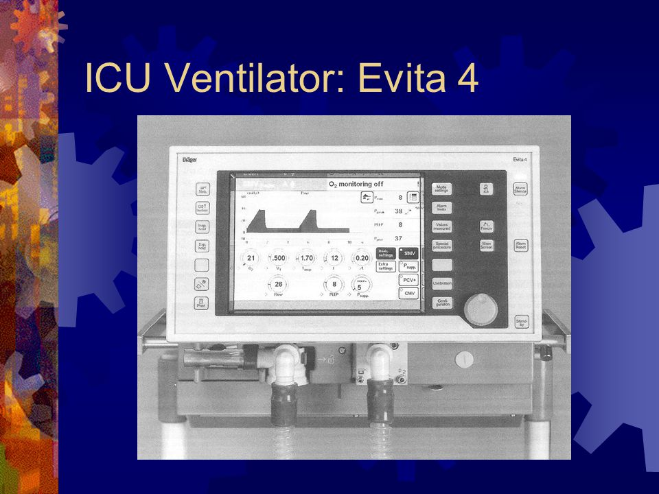 ICU Ventilator: Evita 4