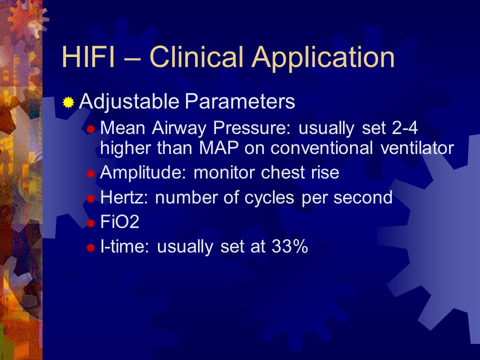 HIFI – Clinical Application