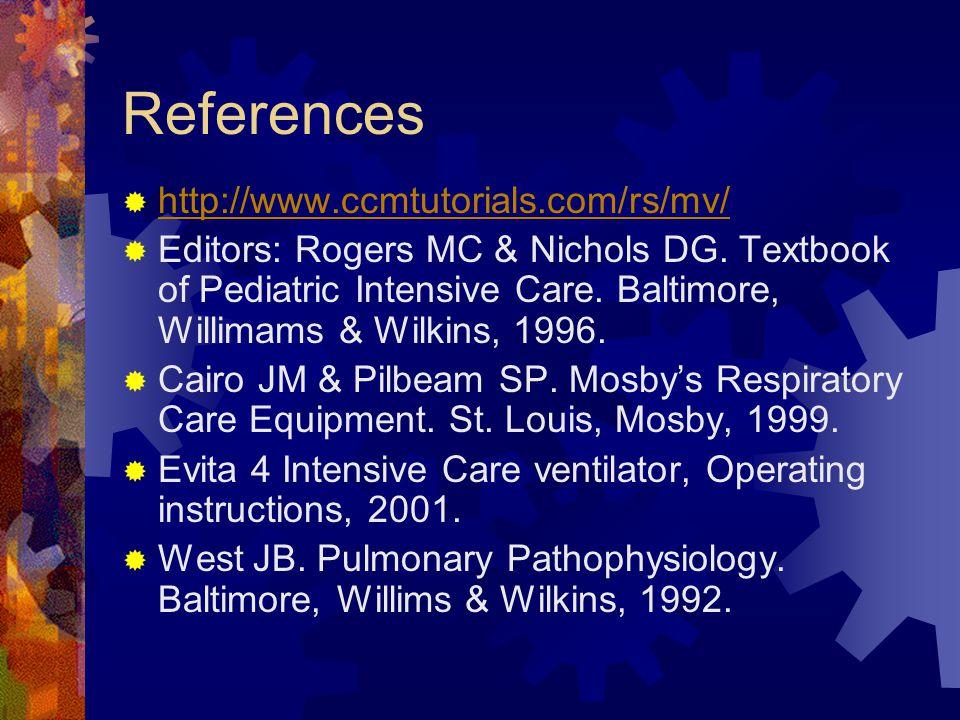 References http://www.ccmtutorials.com/rs/mv/