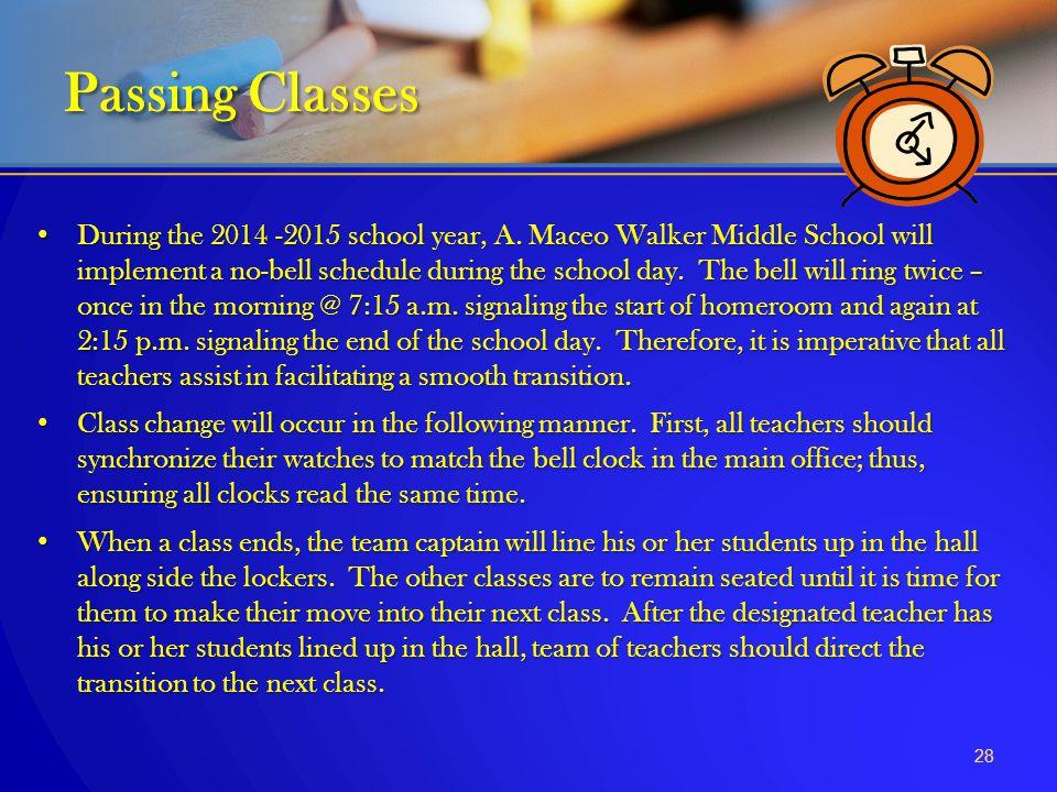 Passing Classes