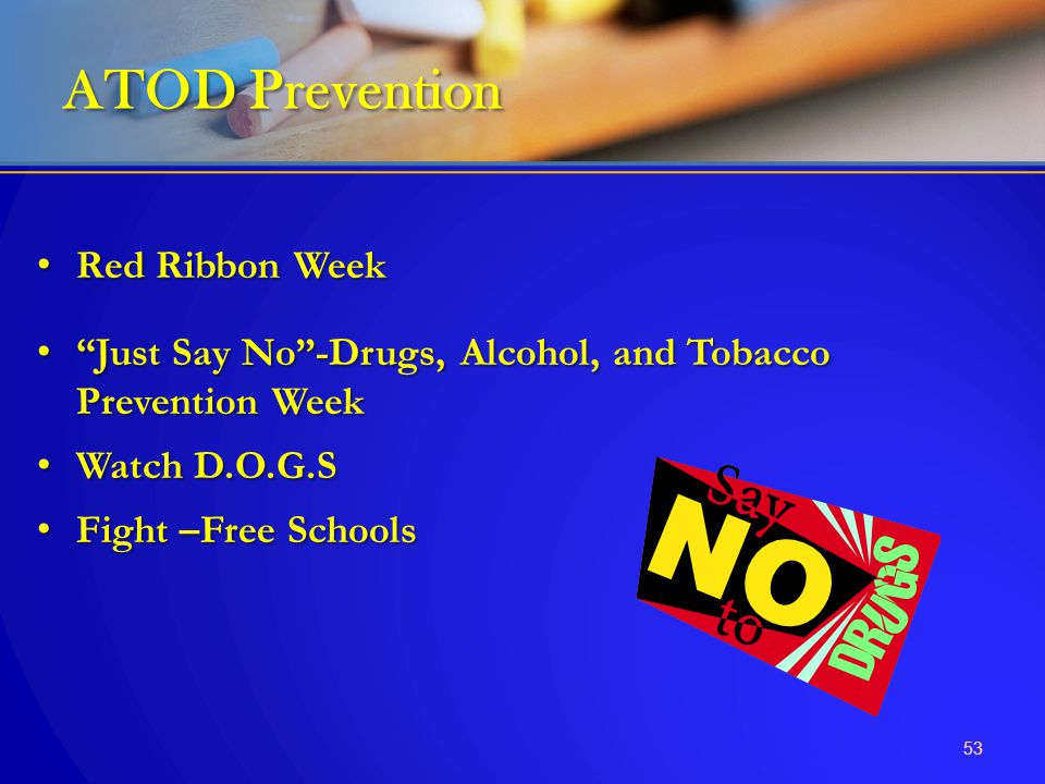 ATOD Prevention Red Ribbon Week