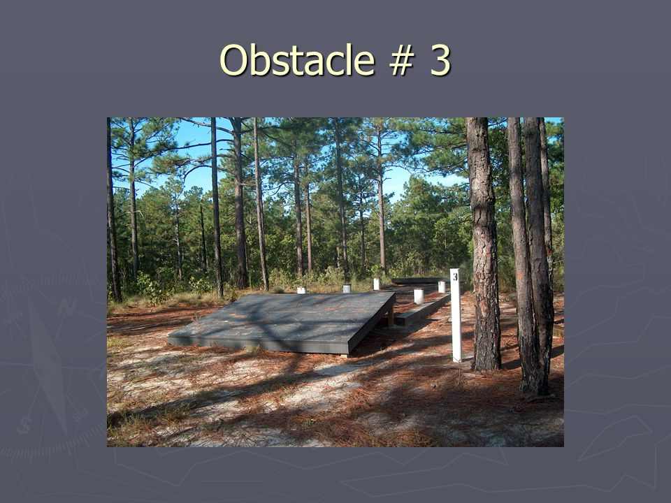Obstacle # 3