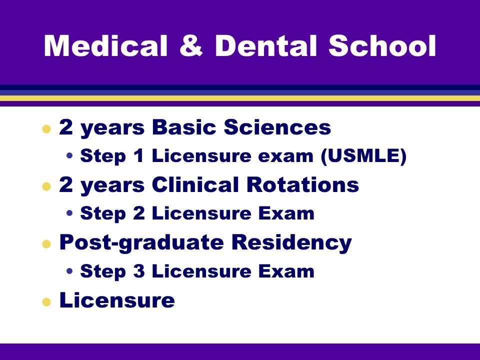 Medical & Dental School