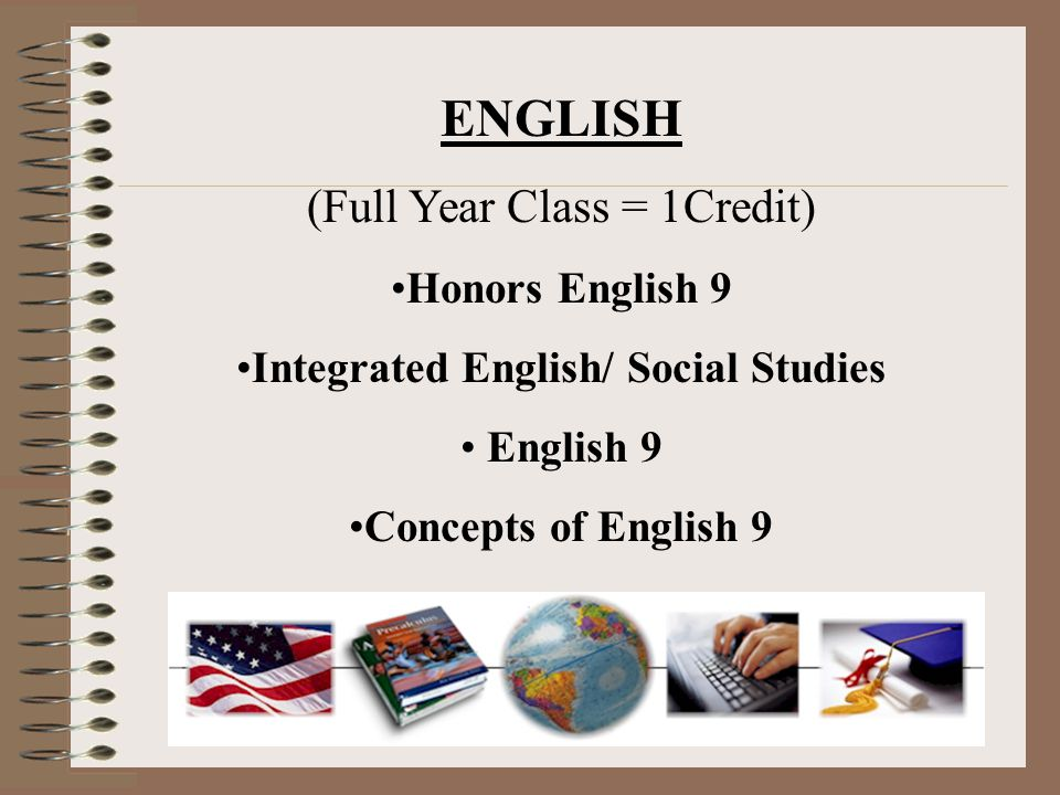 Integrated English/ Social Studies